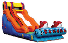 Big Kahuna Water Slide w/ Pool