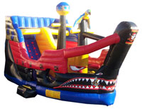 Pirate Ship Slide Wet/Dry