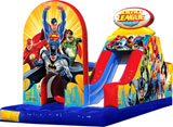 Justice League Challenge Obstacle Course