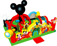 Mickey Park Toddler Learning Town