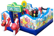 Sesame Street Toddler learning Town