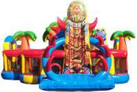 Tiki Island Obstacle Course