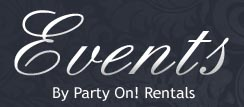 Visit our Events Rentals website